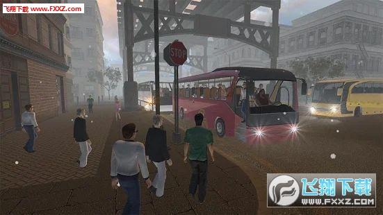 教练巴士模拟器2019手游v1.2截图1