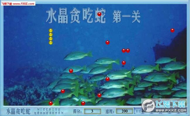 水晶贪吃蛇(shuijing)截图2