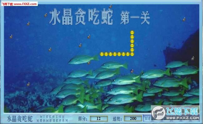 水晶贪吃蛇(shuijing)截图1