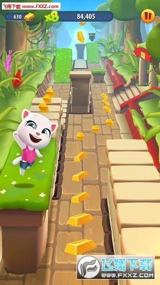 汤姆猫跑酷2019满金条无敌版3.6.0.0截图1