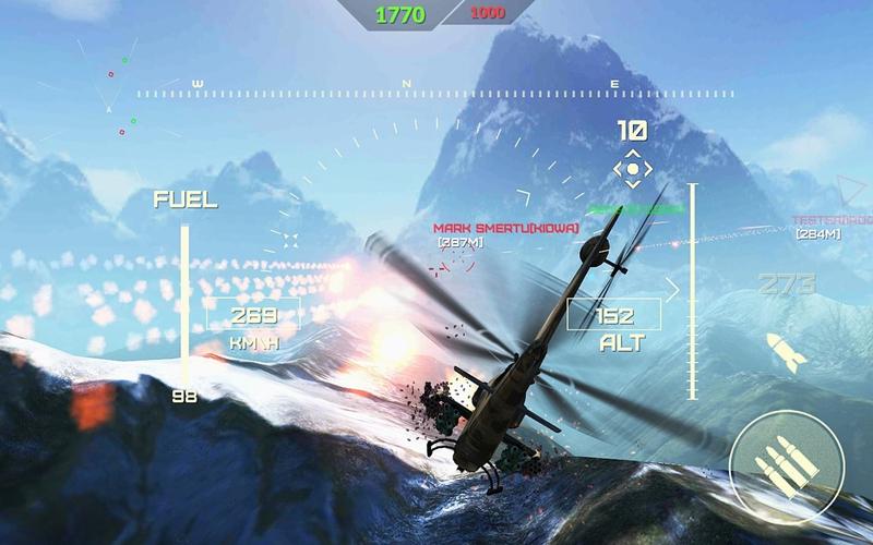 网络世界的武装直升机官方版v1.4.2截图0