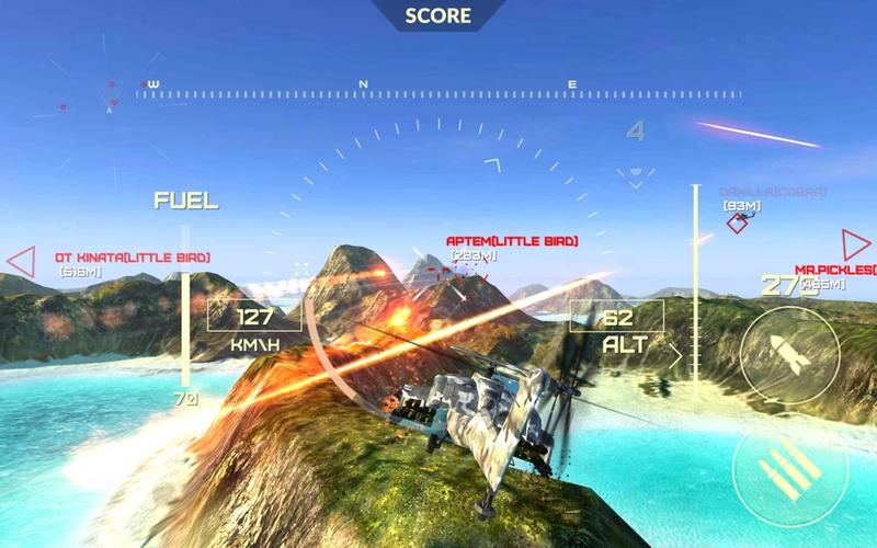 网络世界的武装直升机官方版v1.4.2截图3