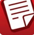 红色文件夹桌面图标