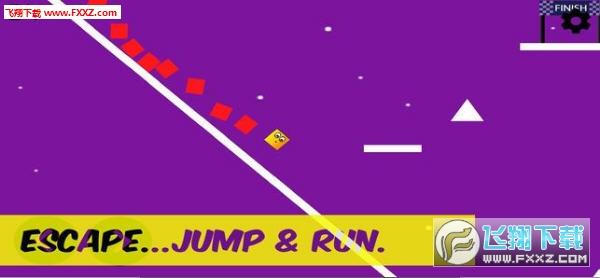 跑酷跳跃手游截图1