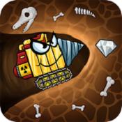 挖掘机寻找矿物游戏