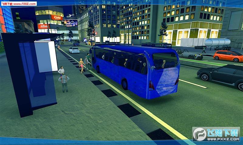 城市公交车模拟器2018安卓版v1.2截图1