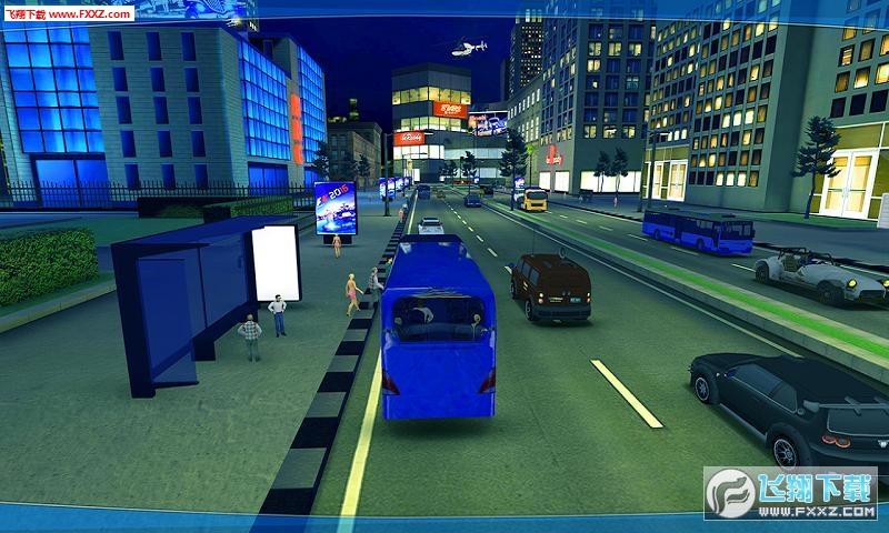 城市公交车模拟器2018安卓版v1.2截图3
