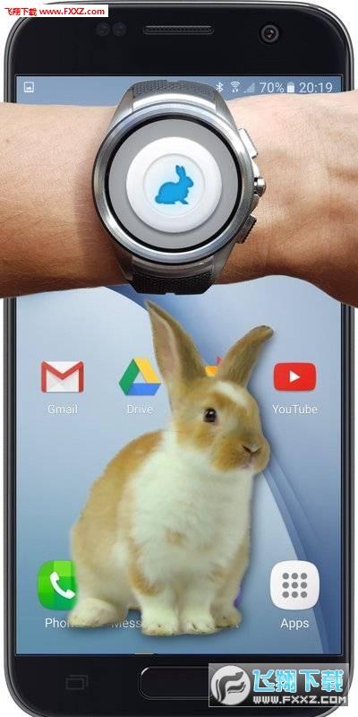 兔子在手机的可爱玩笑安卓版v1.1截图2