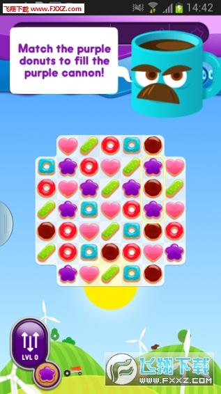 疯狂甜甜圈无限金币版v1.5.1 安卓版截图3
