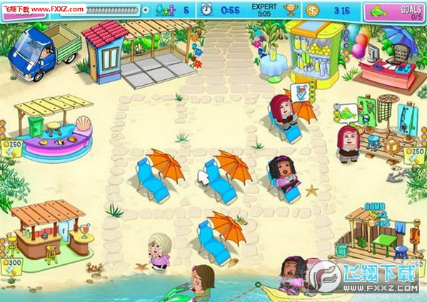 呼噜海滩派对截图1