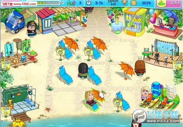 呼噜海滩派对截图2