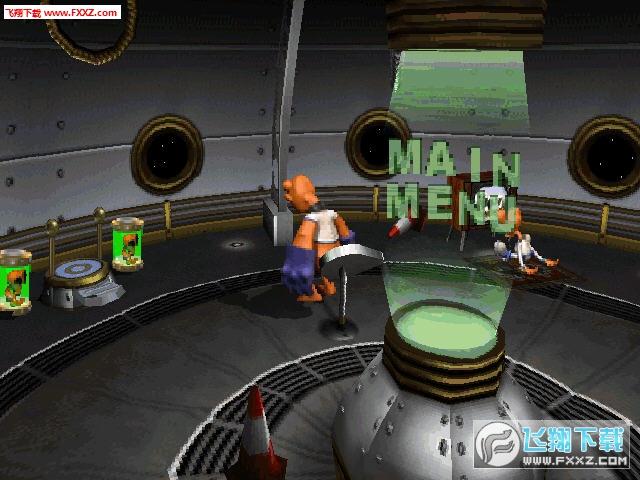 外星人ET的反击绿色硬盘版截图0