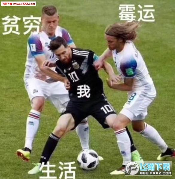 梅西世界杯凉了表情包截图2