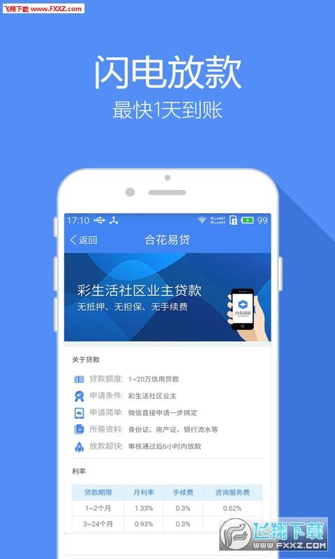 合花易贷appV1.8.0截图2