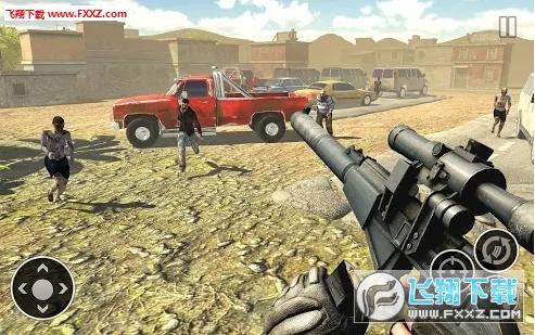 军队射手自由僵尸射击正式版截图0