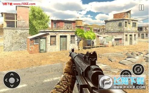 军队射手自由僵尸射击正式版截图1