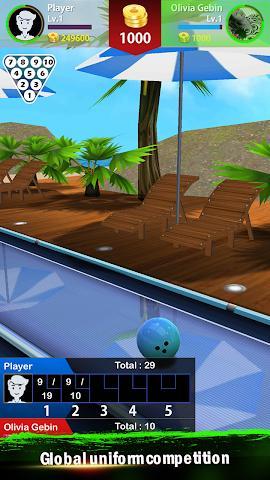 3D竞技保龄球安卓版截图0