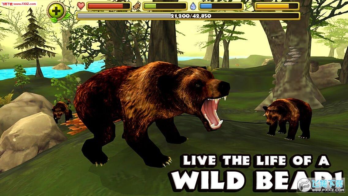 棕熊模拟游戏截图0