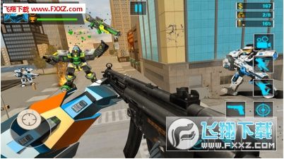 机器人FPS射击安卓版截图0