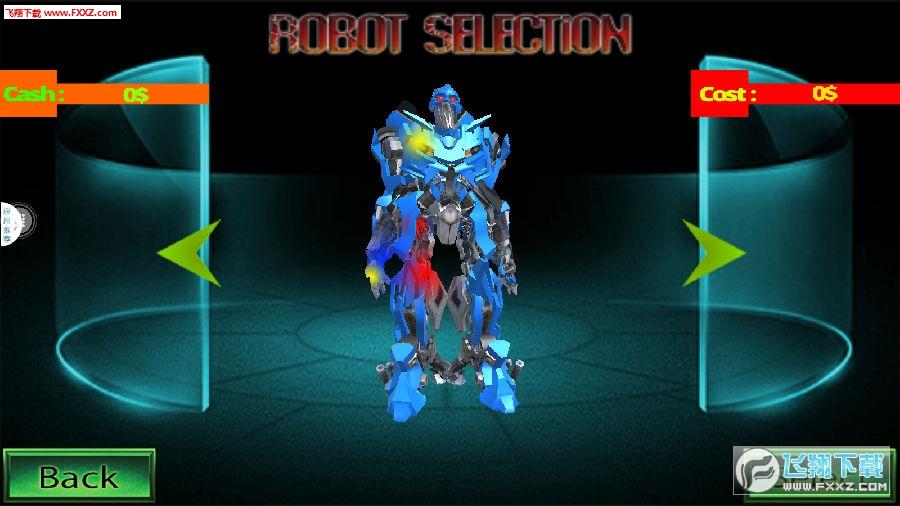 盛大超级汽车机器人闪光速度战斗