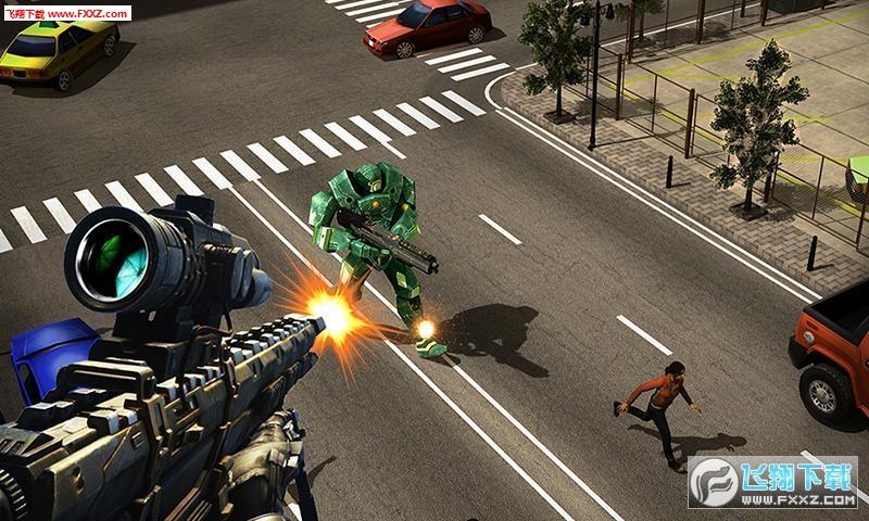 机器人狙击手游截图0