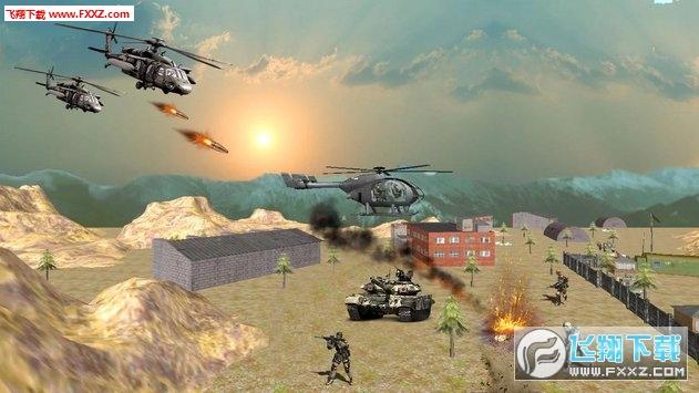 美国陆军武装直升机合力战争空袭3d手游v1.2截图0