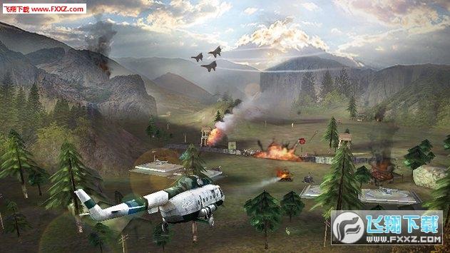 美国陆军武装直升机合力战争空袭3d手游v1.2截图1