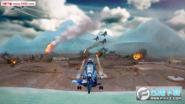 美国陆军武装直升机合力战争空袭3d手游v1.2截图2
