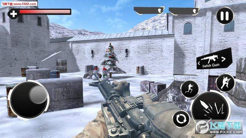 军事战争致命射击手游截图0