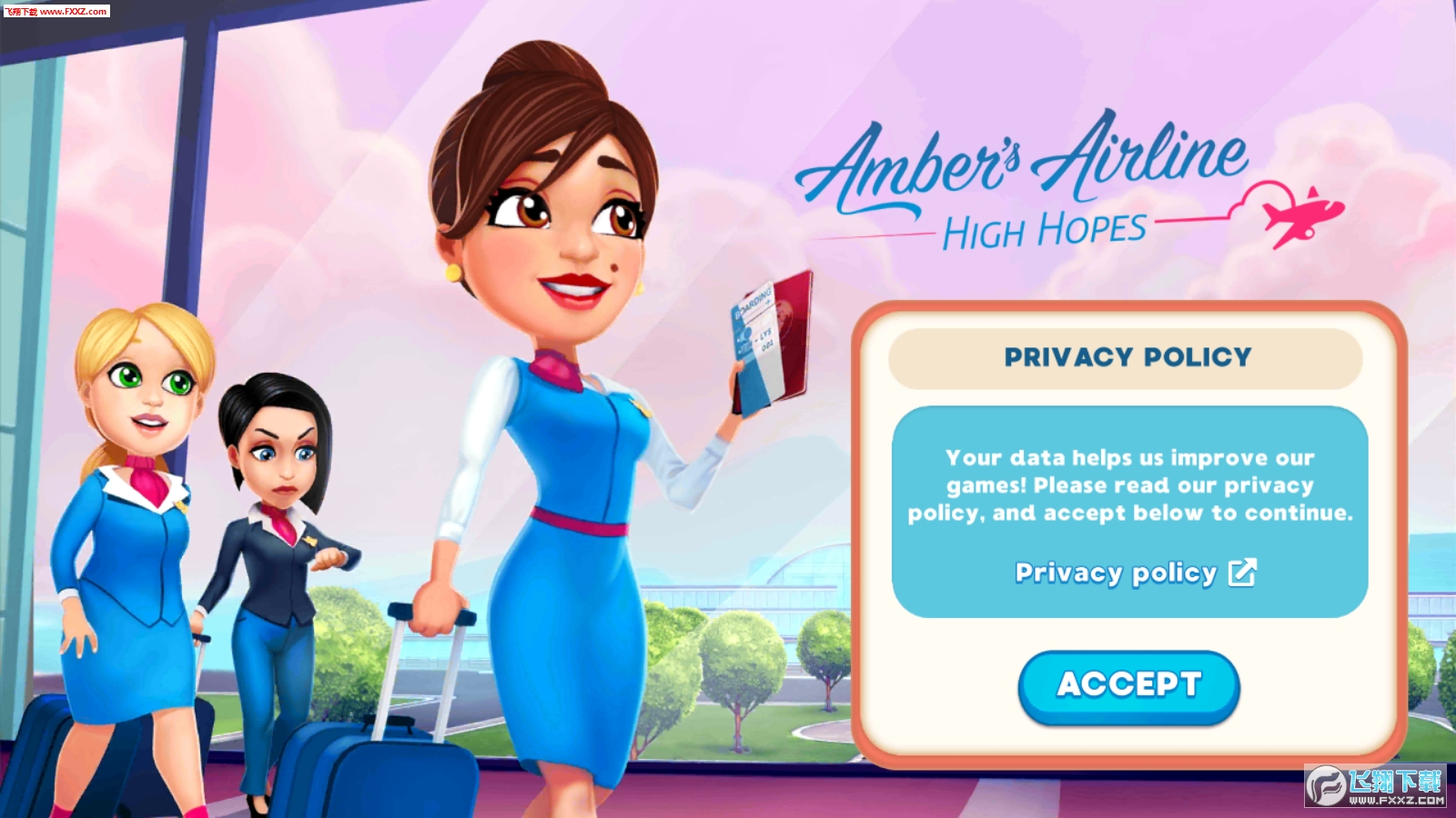 Ambers Airline High Hopes游戏截图1