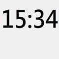 WayneClock超大桌面时钟绿色版v1.0免费版