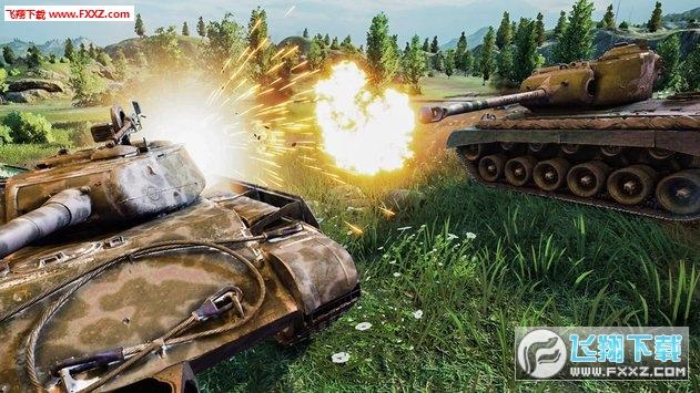 坦克射击战场安卓版截图0