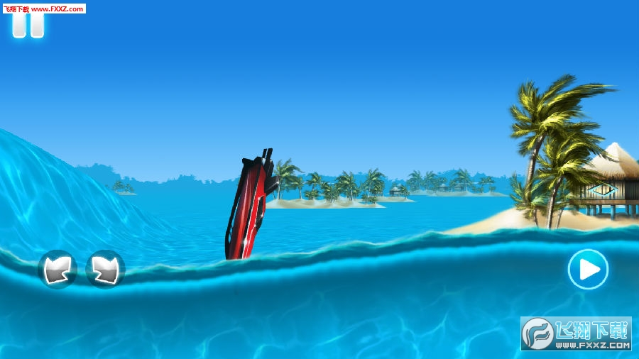 Tropical island boat racing手游
