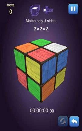 立方体匹配王(玩转魔方)游戏