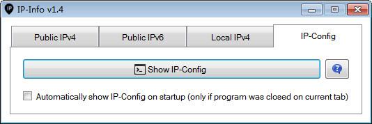 内外网IP检测工具IP-Info