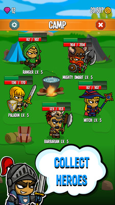 五位英雄国王之战安卓版截图0