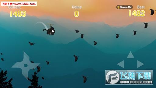 Flying Cat Ninja安卓版截图1