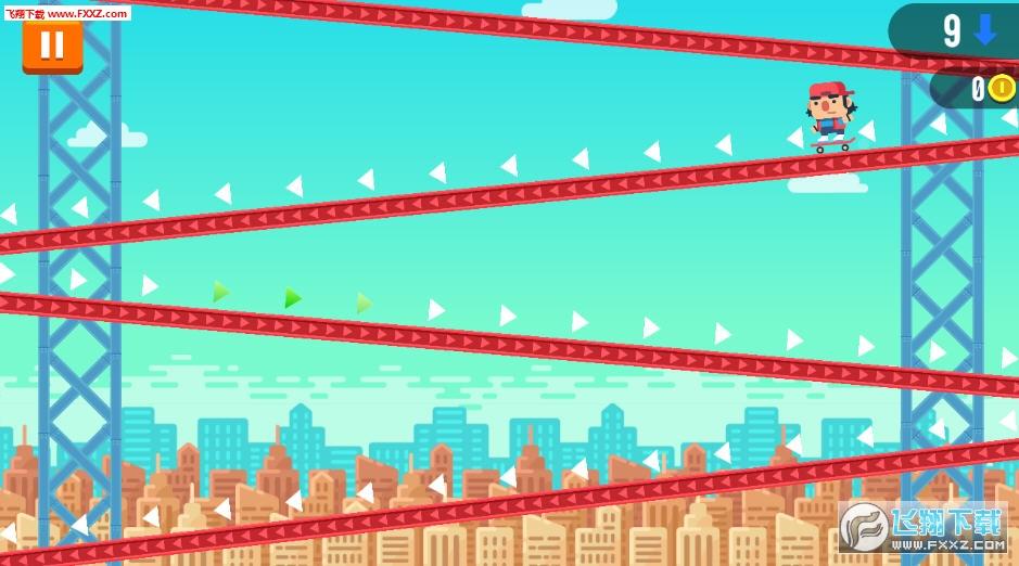 速降滑板官方版下载 速降滑板安卓游戏v1.0.21下载 飞翔下载