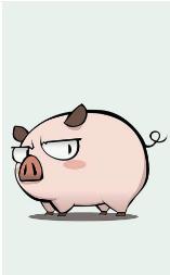 2019可爱猪猪屏幕图片1.0截图2
