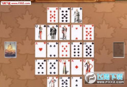琥珀金字塔纸牌截图0