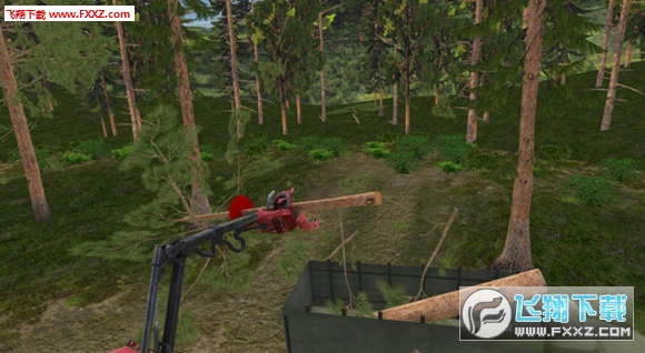 森林收割�C3D版截�D3