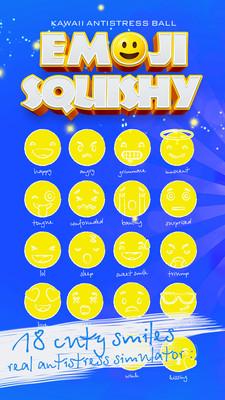 Squishy表情符号抗应激球安卓版v1.3截图0