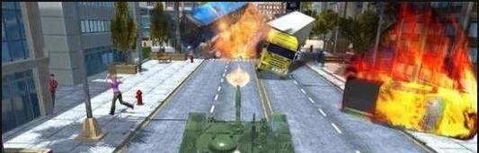 坦克交通破坏1.0截图0