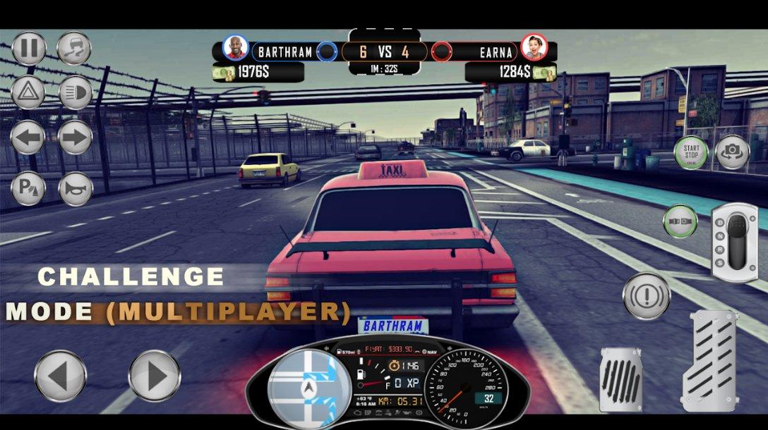 1984出租车模拟器无限汽油版1.0.3截图0