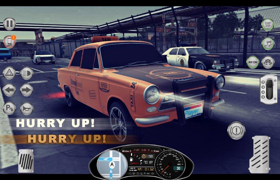 1984出租车模拟器无限汽油版1.0.3截图1