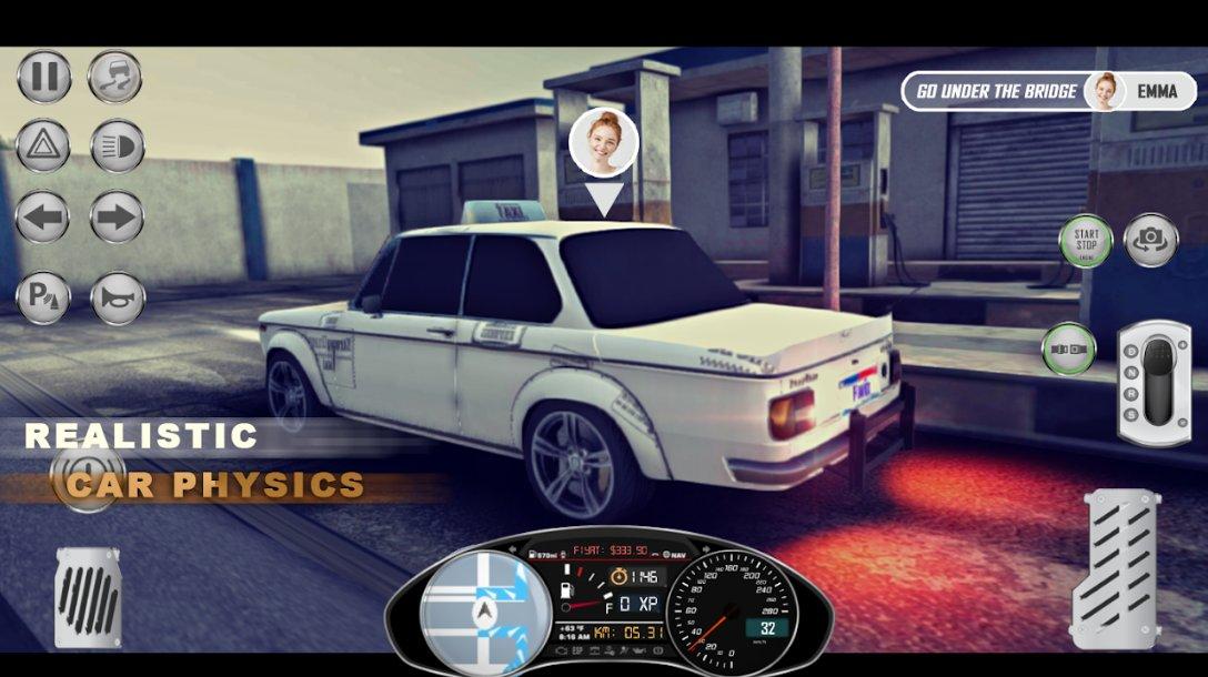 1984出租车模拟器无限汽油版1.0.3截图2