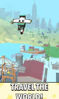 喷气跳跃手游最新版1.2.8截图1