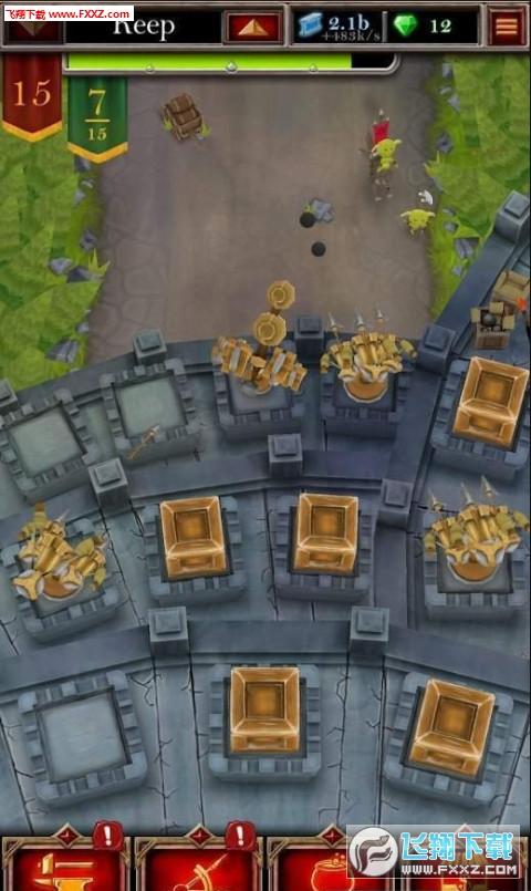 城堡融合射击手游