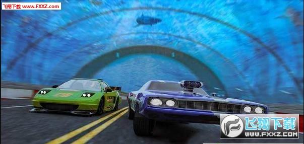 水水下汽车竞技赛破解版1.0截图1