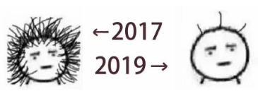 2017到2019对比表情包v1.0截图0
